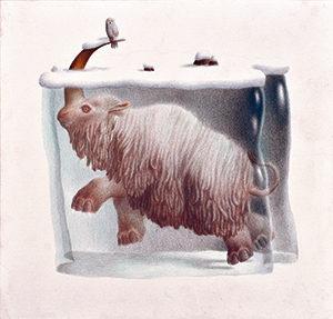 ダニエーレ・カステッラーノ(イタリア)「隠れた動物の図鑑」
